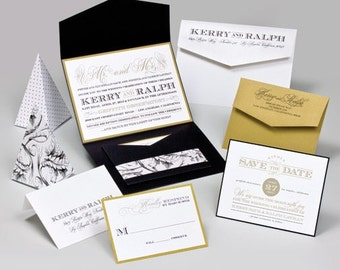 Wedding Invitations - Kerry Collection