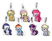 Pony Badges - Favorite 7 Set