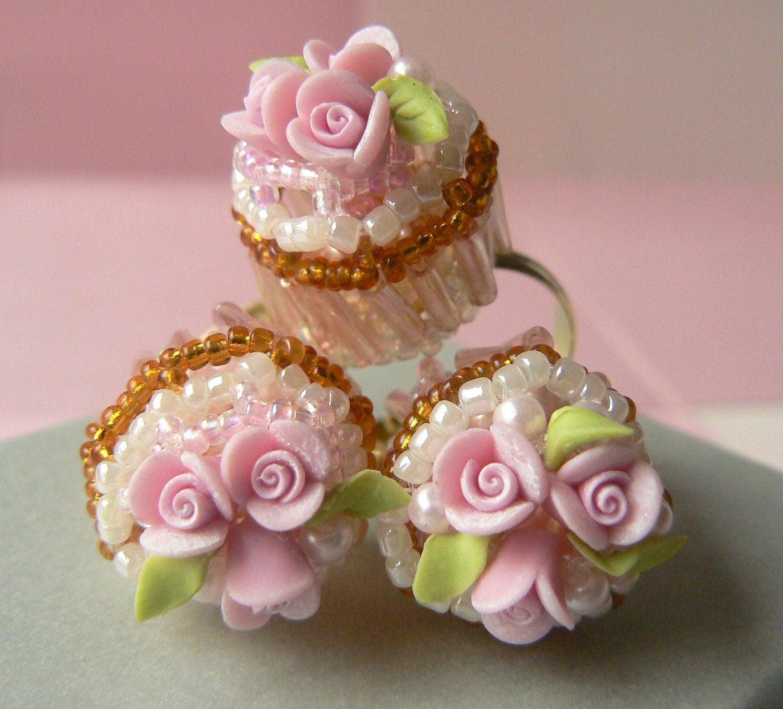 Shabby Chic Cupcakes Shabby chic. rose cupcake