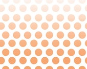 Cotton Ombre Dots in Orange by Riley Blake Designs - one half yard