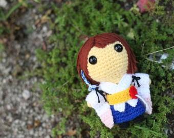 PATTERN: Yuna (Final Fantasy X) - Amigurumi crochet pattern (PDF File)