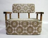 Vintage Booster Chair 1950 / 1960's Children's Restaurant Style Mid Century Seat