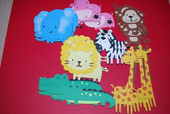 Zoo animal Die Cuts (28)