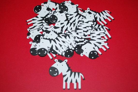 """Zebra Die Cuts (12) 2"""""""