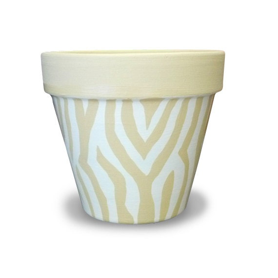 Zebra Animal Print Planter For Your Home By