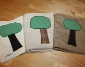 Cloth Baby Books - handmade baby, toddler developmental toy