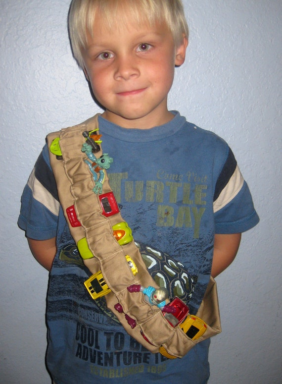 Toy Bandolier Tan - Cars, Super Heroes