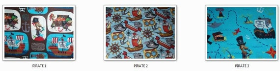 Custom Listing for Alicia - Pirate Option 1 Toddler Comforter and Standard Pillowcase