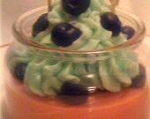 Blueberry Love Muffin Cupcake Candle