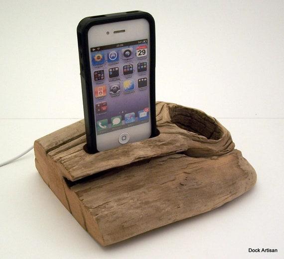 Beach Driftwood iPhone Dock