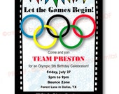 Let the Games Begin with this Olympic themed Party