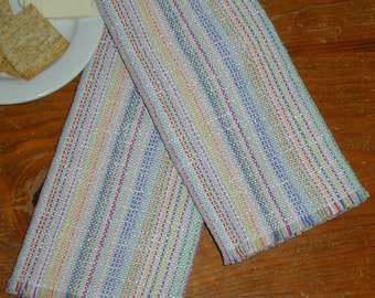 Lots of Color Handwoven Cotton Napkins, set of 2