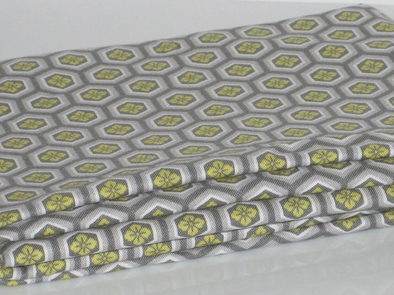 FOR AMOREENA Gray Timeless Treasures Lotus  Cotton Quilting Fabric REMNANT