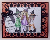 Best Witches Halloween Greeting Card