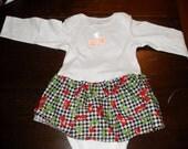 18 mo Cherry Onesie Dress