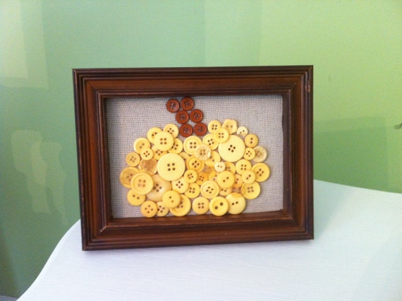 Button Frame, Pumpkin Frame, Frame, Button Pumpkin Frame, Personalized Frame, Personalized Pumpkin Frame, Fall Decor, Fall