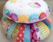 Round Cushion Stack PDF Pattern - Instant download