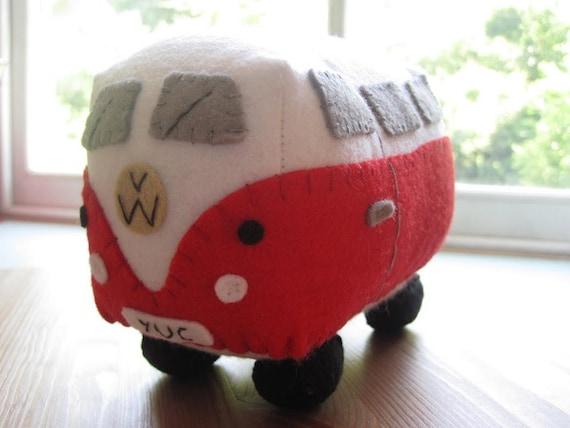 Custom Listing for BECKY COAD - VW Campervan Plush Toy