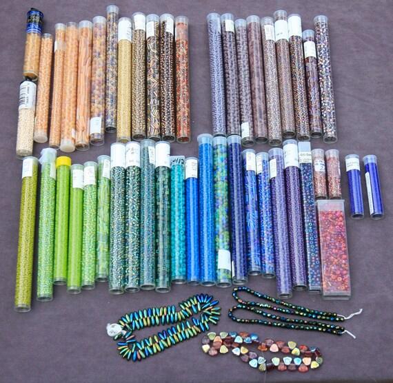 Beautiful assortment of  Czech Beads on MEGA SALE