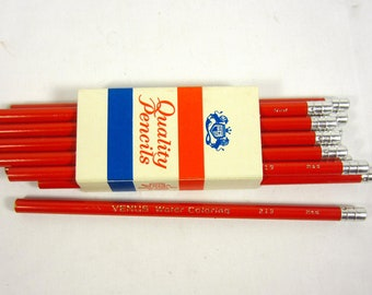 Vintage Eagle Watercolor Pencils - Red - 219 Red