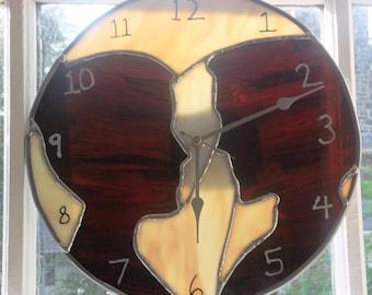 Silhouette Clock
