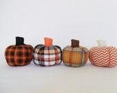 Halloween Fabric Pumpkins - Custom Order