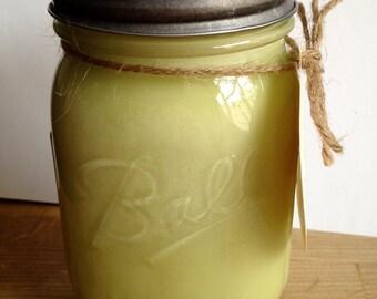 Brandied Pear Soy Candle 16oz Ball Jar