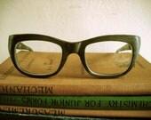 Rare 1960's Italian Designer Reading Glasses by Filos (Sylvestro Calleri, of Italy). Men's.