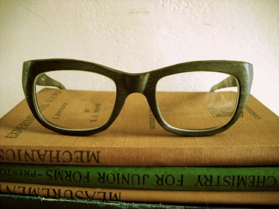 Rare 1960's Italian Designer Reading Glasses by Filos (Sylvestro Calleri, of Italy). Men's.