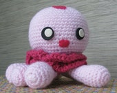 Amigurumi Jellyfish Kurara/Clara inspired by Kuragehime/Princess Jellyfish