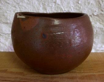 Nanban fired bowl 2397 wood fired