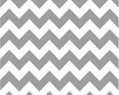Medium Chevron Fabric by Riley Blake Designs  C320 40 Gray