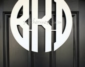 "18"" Wooden Block Monogram-Ready to Paint-Monogram your Home"