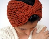 Zayra Knit Headband Super soft Warm Woman Chunky Headband
