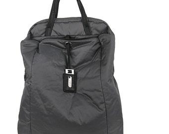 Leppy Fabric cushion Backpack (Grey)