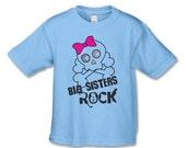 Big Sisters Rock T-Shirt  - Big Sister  Shirt  (BTT  BUT 5017)