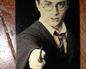 Harry Potter Bookograph Metal Bookmark