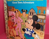 Mickey Mouse and the Mouseketeers LIttle Golden Book
