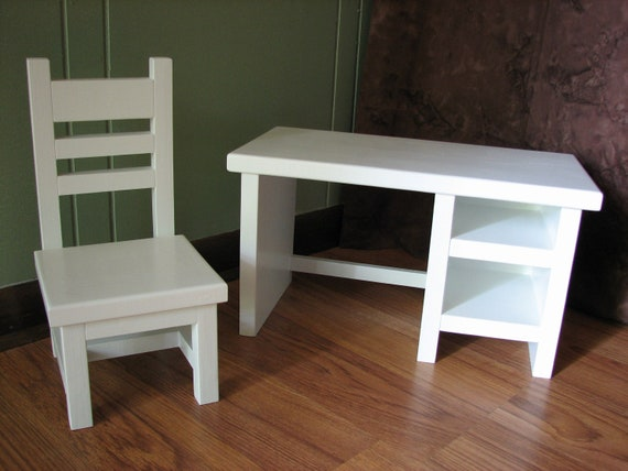 Items Similar To School Desk For American Girl Doll Or -5902