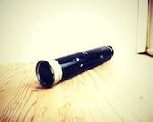 Vintage binocular collapsible black komet