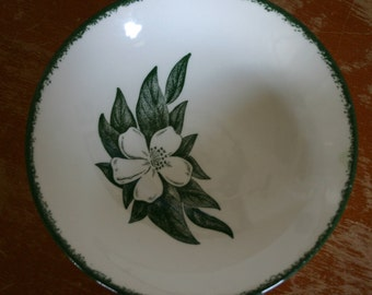 Royal China D56 Small Floral Bowl Vintage Dish Magnolia