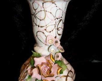Lefton Vase, Signed & Numbered