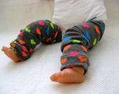 Heart Felt Neon Lights Children's Leg Warmers