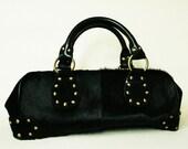 Vintage Cowhide Valerie Stevens Handbag