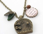 Der kleine Hobbit - Nostalgie Kette in bronze