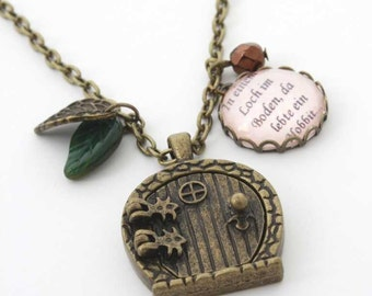 The Hobbit - nostalgia chain in bronze