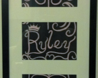 Personalized Princess Painting