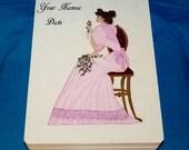 Decorative Wood Wedding Box- Victorian, Hand Painted, Wedding Keepsake Box, Wedding Gift Card Box, Personalized, Memory BOX, Wood Box