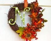 Fall Grapevine Wreath - Fall Wreath