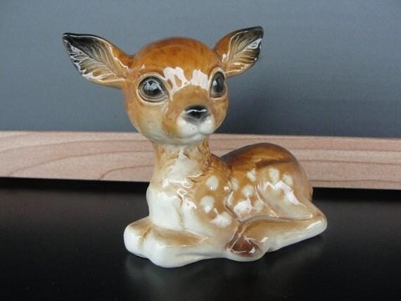 Vintage Baby Deer